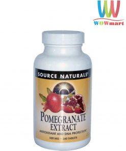 Viên-uống-tinh-chất-lựu-Source-Naturals-Pomegranate-Extract-500mg-240-viên
