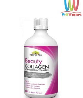 Collagen-nước-tinh-chất-hạt-nho-Nature's-Way-Beauty-Collagen-Liquid-500ml