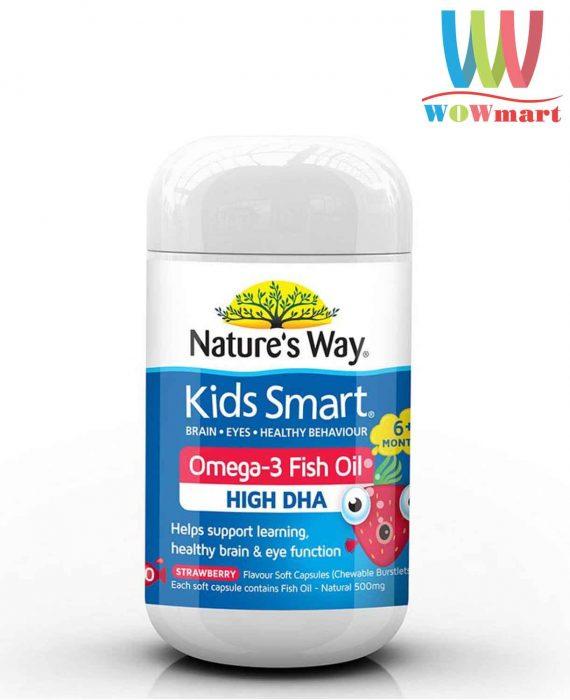 Kẹo-dẻo-Kids-Smart-Omega-3-Fish-Oil-High-DHA-50-Chewable-Capsules