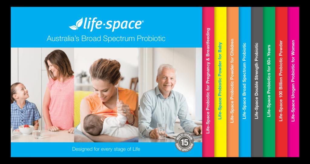 Men vi sinh cho người già Life Space Probiotic For 60+ Years 60 viên