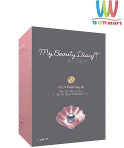 Mặt-nạ-ngọc-trai-đen-My-Beauty-Dairy-Black-Pearl-Mask-10-miếng