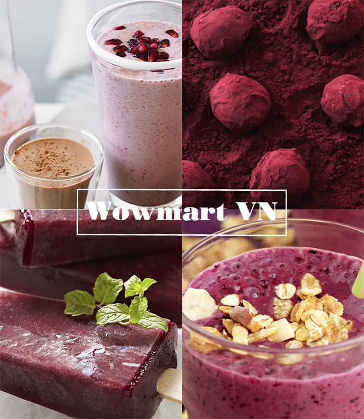 Bột trái cây chiết xuất từ quả Acai Nature's Way Super Foods Acai Berries 50g