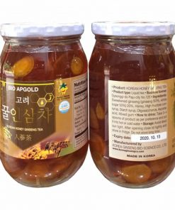 Nhân sâm ngâm mật ong Bio Apgold 580g