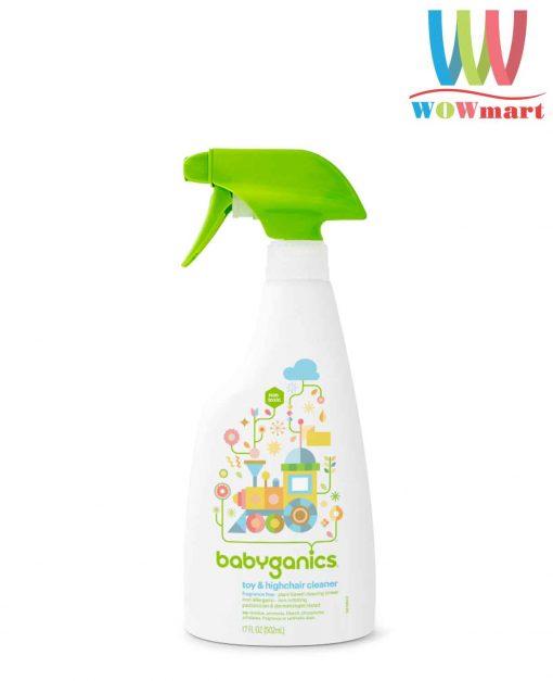 nuoc-rua-do-choi-va-ban-ghe-babyganics-toys-highchair-cleaner-502ml