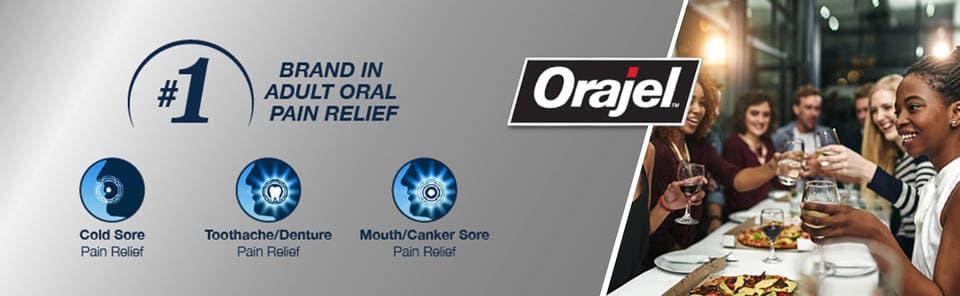 Thuốc bôi giảm viêm đau răng lợi (nướu răng) Orajel Double Medicated Liquid 13.3ml