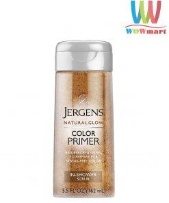Sữa-tắm-tẩy-tế-bào-chết-Jergens-Natural-Glow-Color-Primer-In-Shower-Scrub-162ml