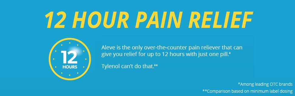 Thuốc hạ sốt giảm đau Aleve 220 mg 320 Caplets