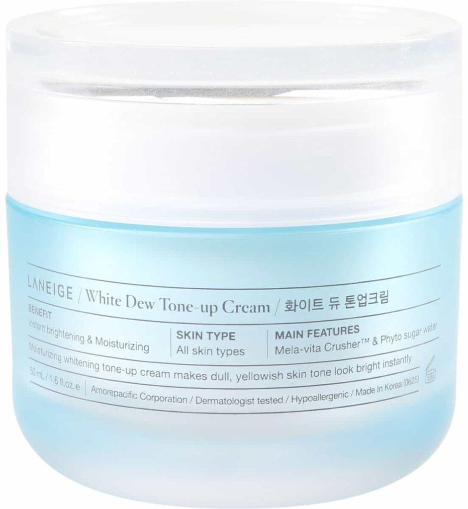 Kem dưỡng trắng da nâng tone Laneige White Dew Tone-up Cream 50ml