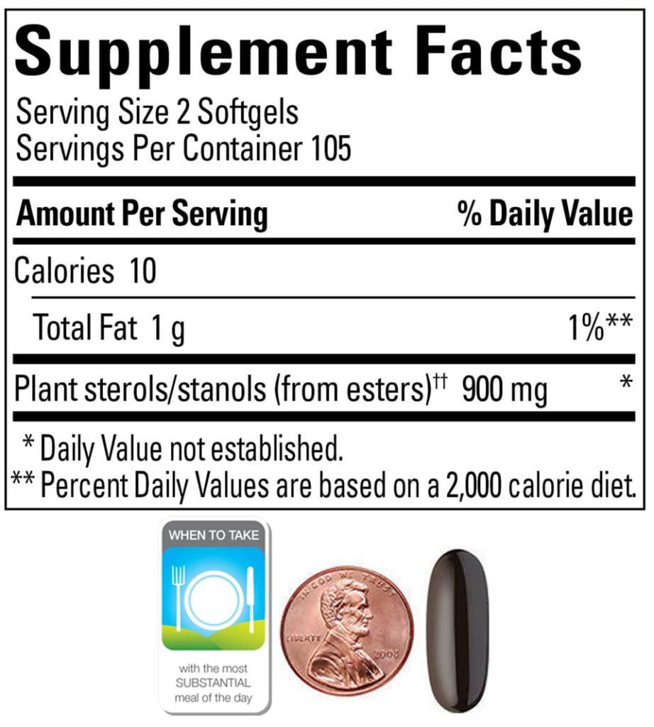 Viên giảm cholesterol Nature Made® Cholest-Off® Plus 450mg 210 viên