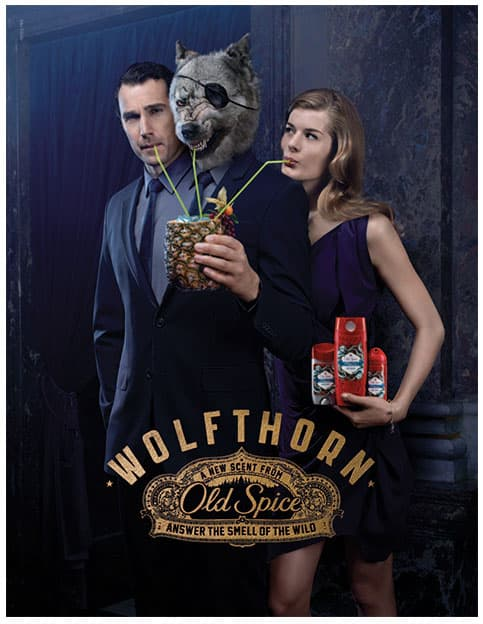 Lăn khử mùi cho nam Old Spice Wolfthorn 73g