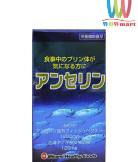Thuoc-ho-tro-dieu-tri-va-ngua-benh-Gout-Nhat-Ban-Anserine-Minami-Healthy-Foods-240-vien