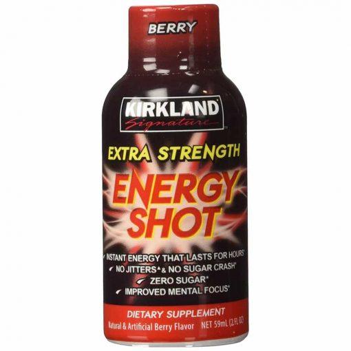 Nước tăng lực Kirkland Signature Extra Strength Energy Shot 48 chai x59ml