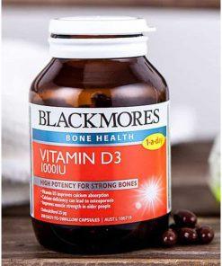 Viên uống bổ sung vitamin D3 Blackmores Vitamin D3 1000IU 60 viên