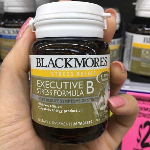 Viên uống giảm stress Blackmores Executive B Stress Formula 28 viên