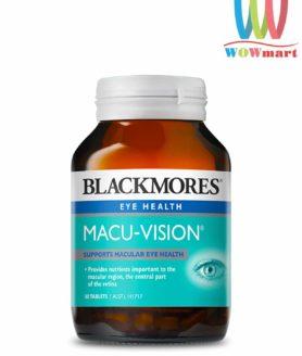 Viên uống giúp sáng mắt Blackmores Macu Vision 30 viên của Úc