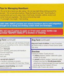 Viên uống trị ợ nóng Pepcid AC Maximum Strength Tablets 100 viên