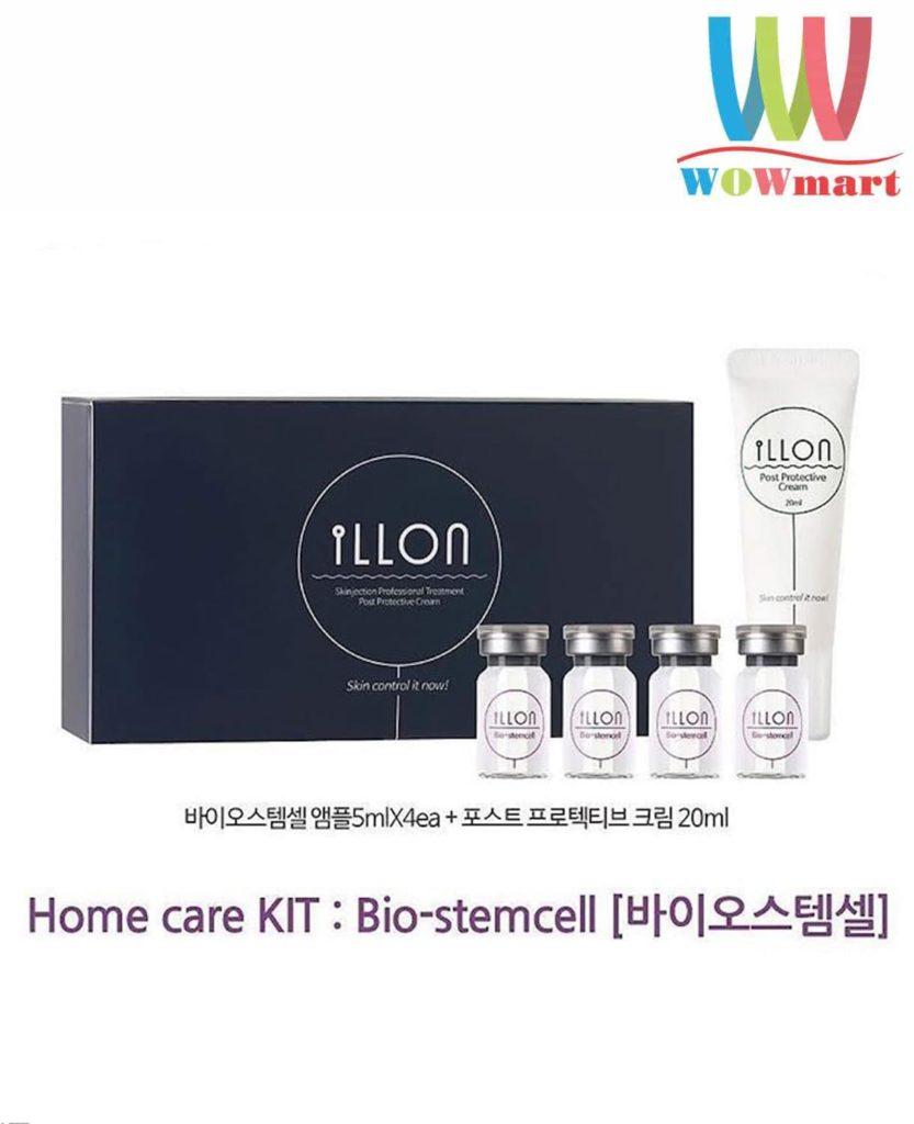 Bộ mỹ phẩm trị mụn chuyên nghiệp iLLon Home Care Kit Sulfur Hàn Quốc