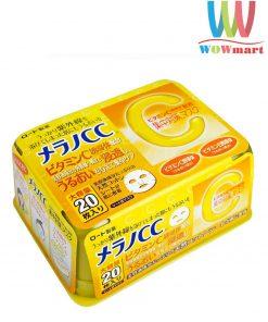 Mặt nạ Melano CC Nhật Bản 20 miếng