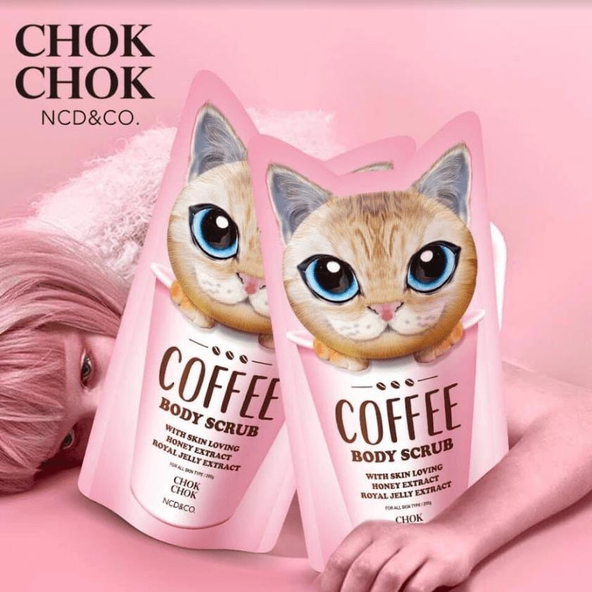 Tẩy tế bào chết Chok Chok Coffee Body Scrub 200g