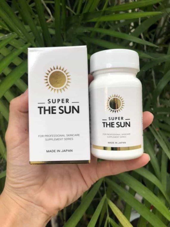 Viên uống chống nắng Super The Sun Nhật Bản 30 viên