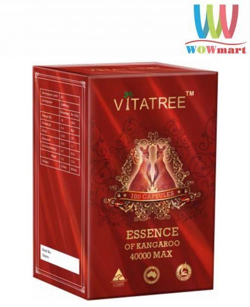 vien uong tang cuong sinh ly nam gioi vitatree essence of kangaroo 40000 max 100 capsules