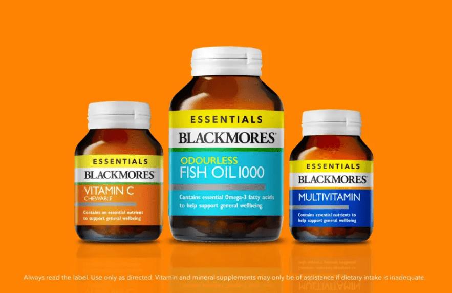 Viên uống bổ sung vitamin tổng hợp Blackmores Essentials Multivitamin 50 viên