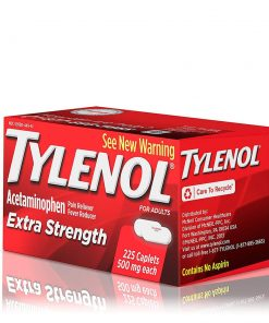 giam dau ha sot tylenol extra strength caplets 500mg 225 vien