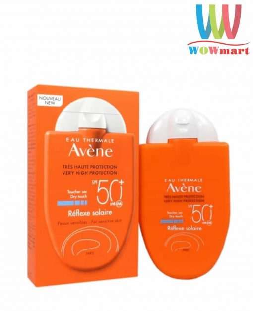 Kem chống nắng Avene Very High Protection Reflexe Solaire Dry Touch SPF 50+ 30ml