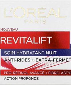 Kem dưỡng chống nhăn ban đêm L'Oréal Paris Revitalift Soin Hydratant Nuit 50ml