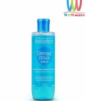 Nước tẩy trang mắt môi Evoluderm Demaq Doux Yeux 250ml