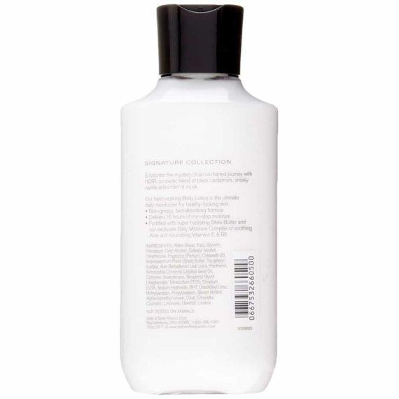 Sữa dưỡng thể Bath & Body Works Noir For Men Body Lotion 236ml