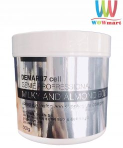 Tẩy tế bào chết body Demar87 Cell Genie Milky and Almond Body Scrub 500g