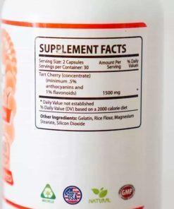 Viên uống hỗ trợ điều trị gút Gout Clear Tart Cherry 60 viên
