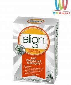 Viên uống hỗ trợ tiêu hóa Align Probiotic Supplement Digestive Care 42 viên