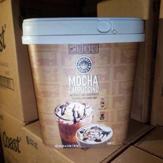 Cafe hòa tan của Mỹ Gourmet Barista Mocha Cappuccino 1.36kg