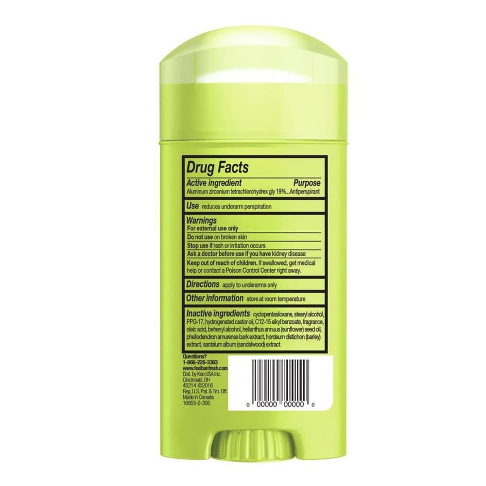 Lăn khử mùi Ban Shower Fresh Invisible Solid 73g