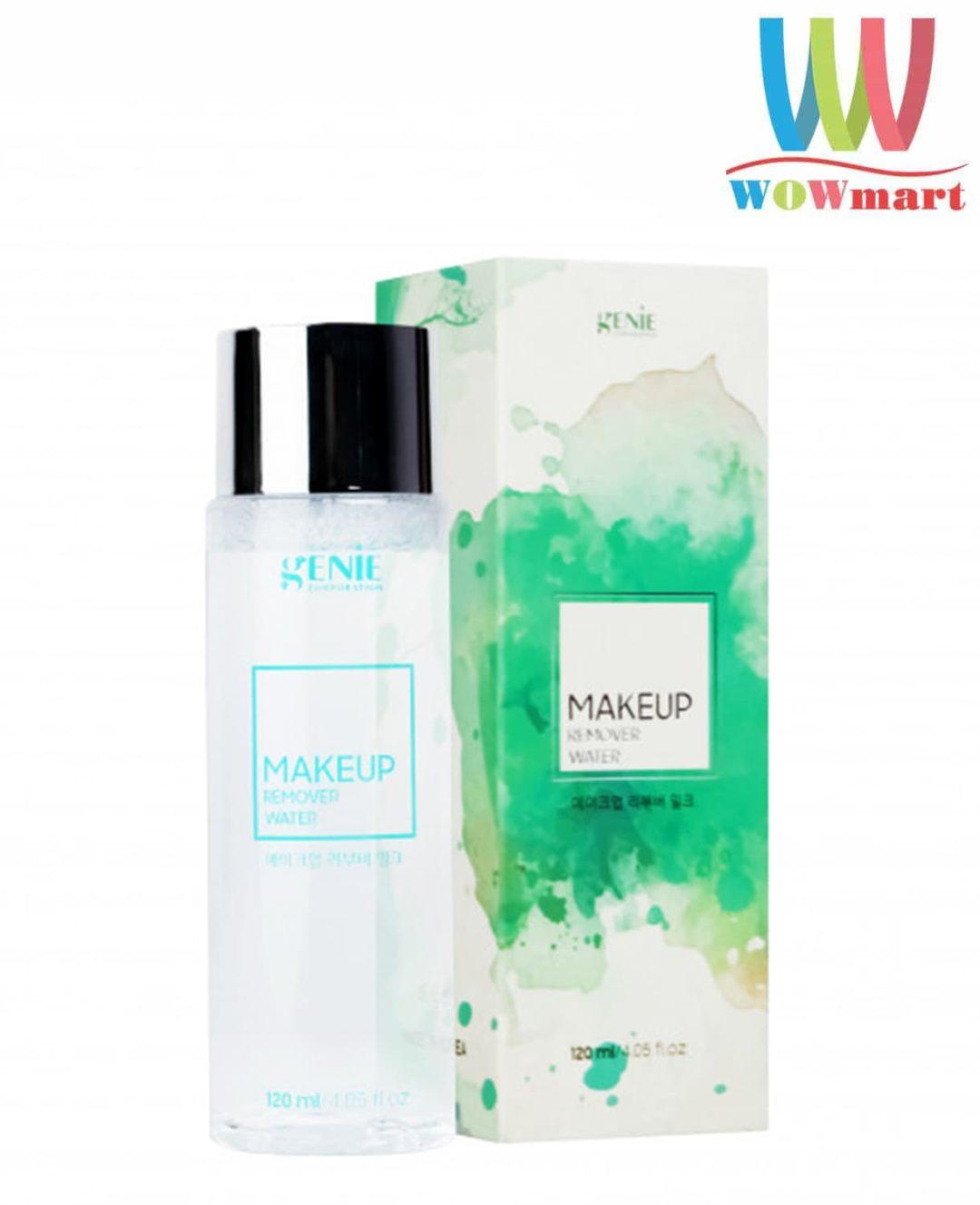 Nước tẩy trang Genie Makeup Remover Water 120ml