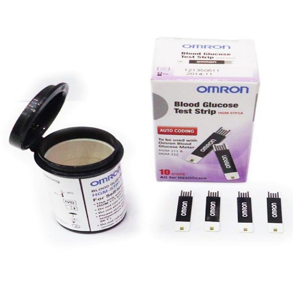 Que thử đường huyết Omron HGM-STP1A Hộp 25 que