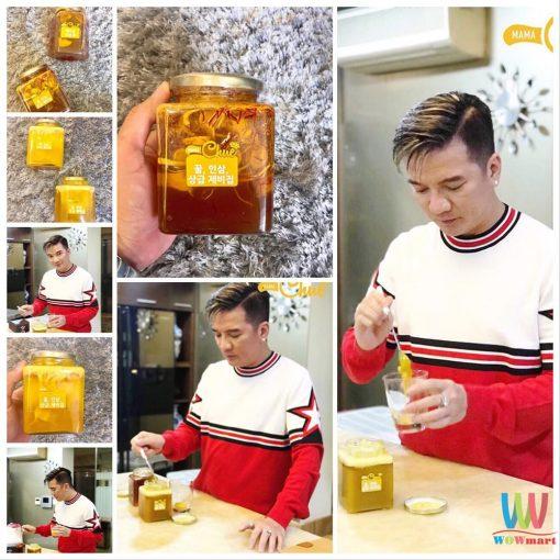 Nhân sâm tươi ngâm mật ong nghệ Mama Chuê Hàn Quốc 500g