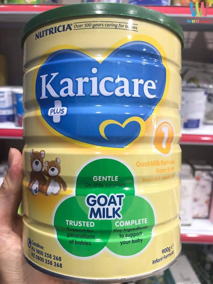 Sữa dê Karicare số 2 cho trẻ 6-12 tháng Karicare Goat Milk Formula Step 2  900g - Wowmart VN | 100% hàng ngoại nhập