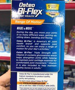 Vien uong boi bo sun khop Osteo Bi Flex Triple Strength Vitamin D 120 vien 6630