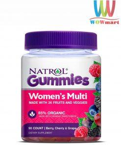Kẹo dẻo đa vitamin cho phụ nữ Natrol Gummies Women's Multi 90 viên