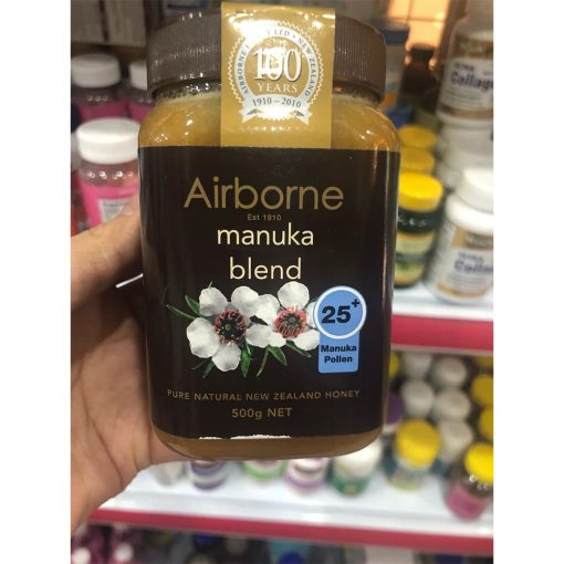 Mật ong Airborne Manuka Blend 25+ 500g