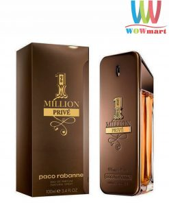 Nước hoa nam 1 Million Prive Paco Rabanne Eau De Parfum 100ml