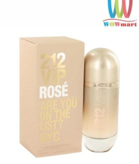 Nước hoa nữ 212 Vip Rose Carolina Herrera Eau de Parfum 80ml