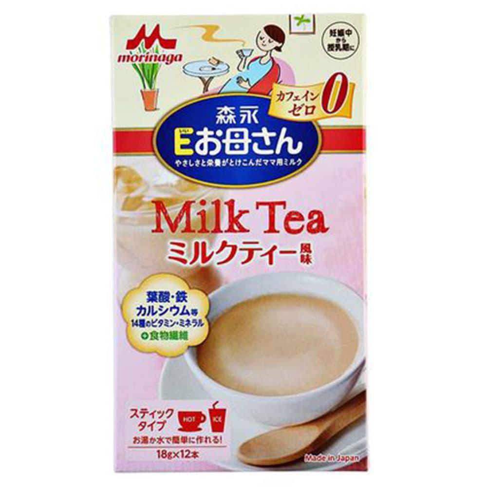 Sữa cho bà bầu Morinaga Milk Tea Nhật Bản 12 gói