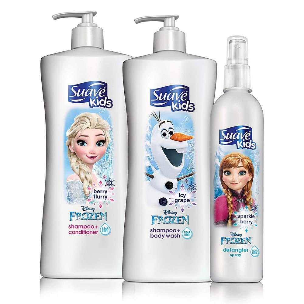 Sữa tắm gội cho bé Suave Kids Frozen Berry Flurry 828ml