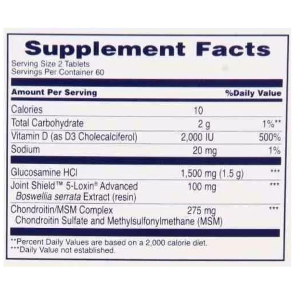 Viên uống trị đau xương khớp Osteo Bi-Flex Triple Strength +Vitamin D 120 viên