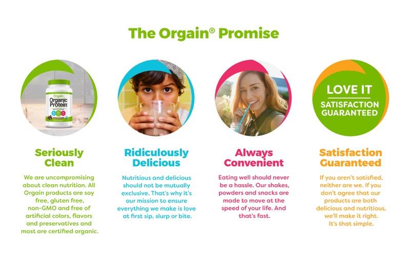 Orgain Plant Based Protein Powder 4