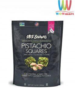 Bánh hạt dẻ 180 Snacks Pistachio Squares 454g